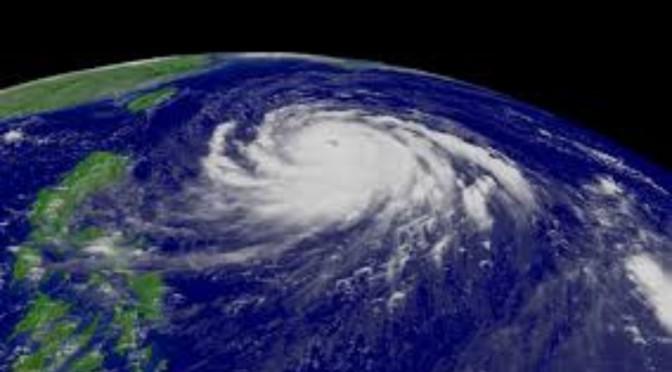 台風と、身体とこころ。